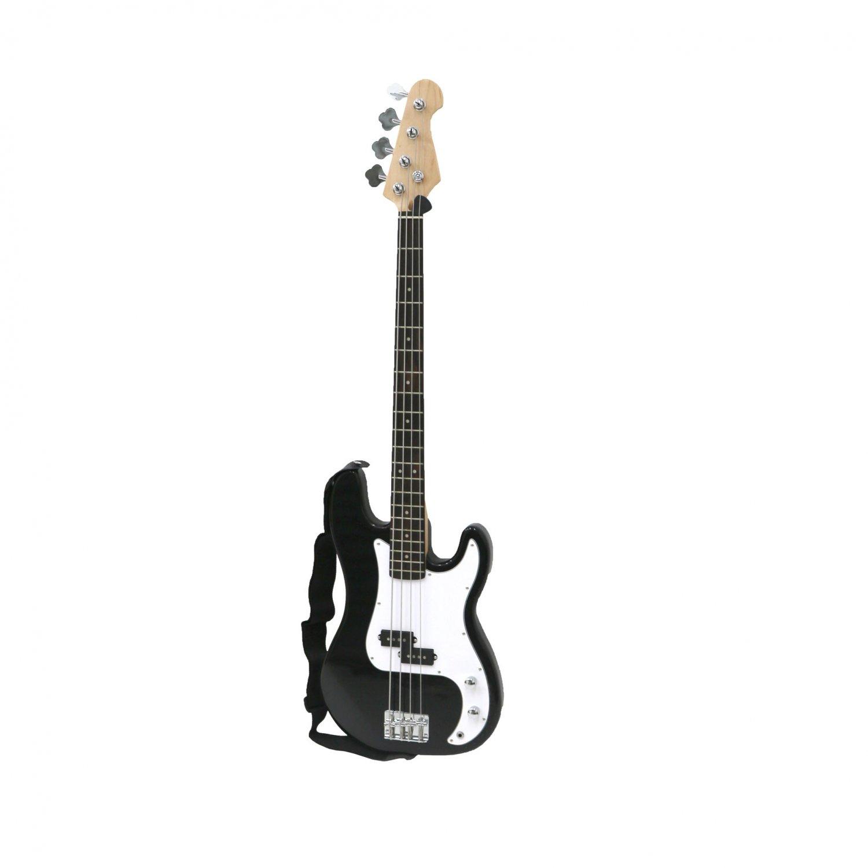 c381d527e24b PB Precision Style Black 4 String Electric Bass Guitar - £69.99 ...