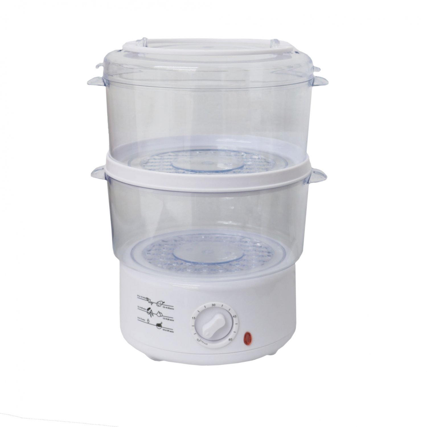 Electric Steam Cooker ~ Layer l compact electric food steamer steam cooker
