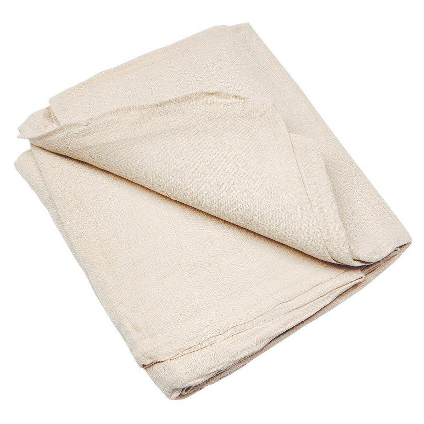 Large cotton dust sheets long handle spade