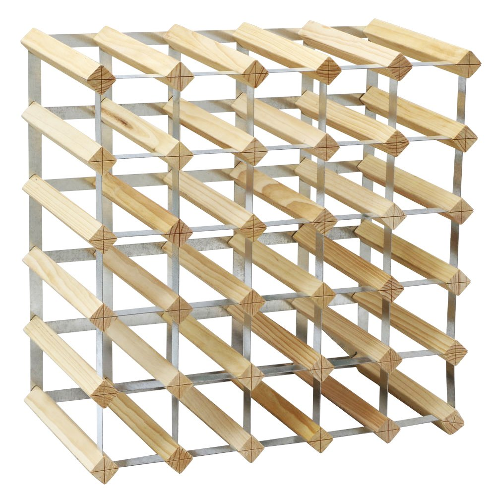 brown rack k shipping collection storage bottle home wood product racks wine adams today overstock free garden j