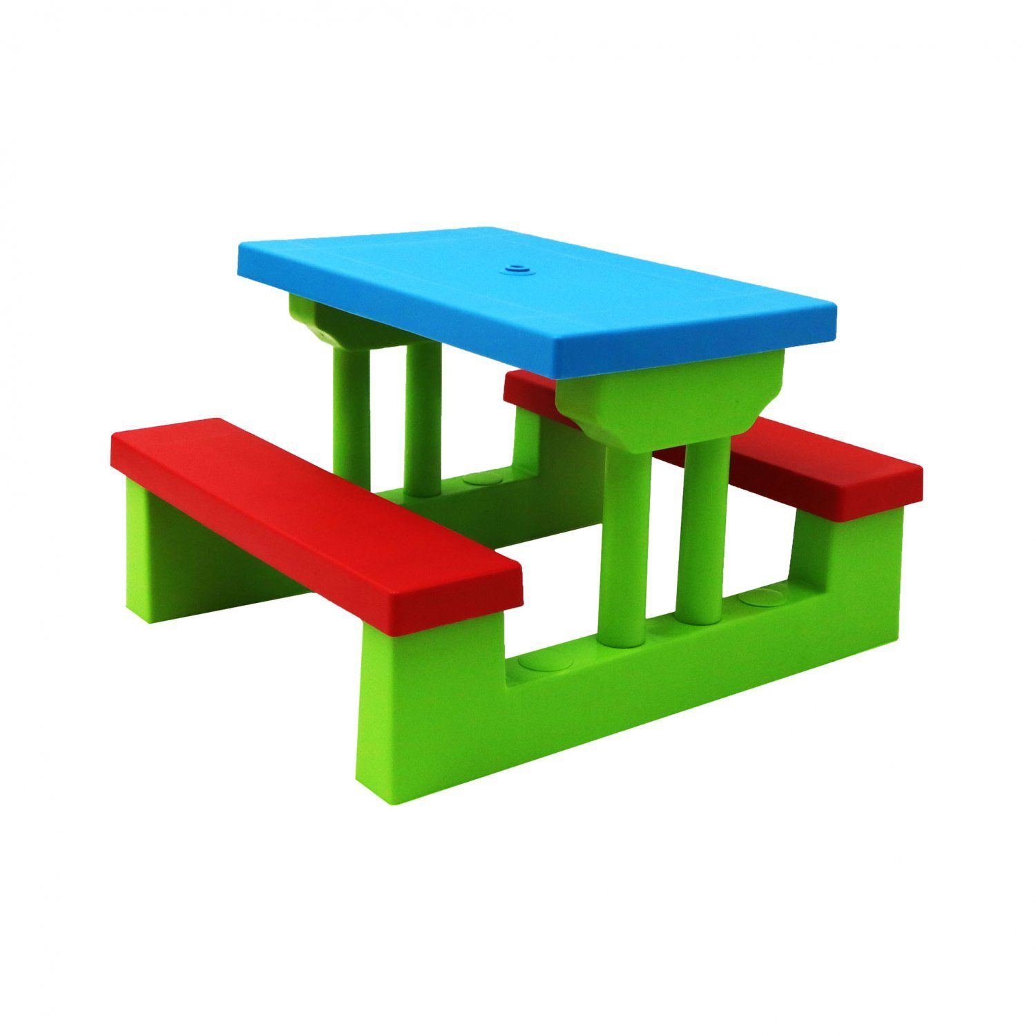 New Kids Childrens Picnic Bench Table Outdoor Garden Furniture With Parasol Ebay