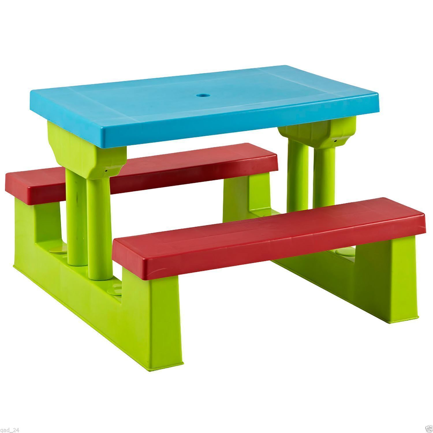 Kids Childrens Picnic Bench Table Set Outdoor Furniture 163 29 99 Oypla Stocking The Very