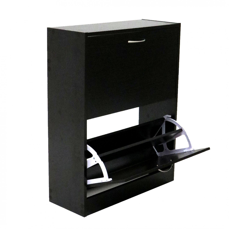 furniture shoe cabinet. 2 drawer wood effect shoe storage cupboard cabinet furniture