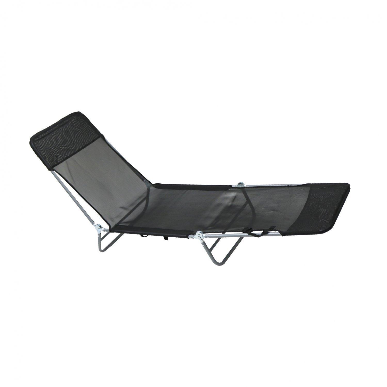 a8a5d348c30d Folding Reclining Sun Lounger Beach Garden Camping Bed Chair ...