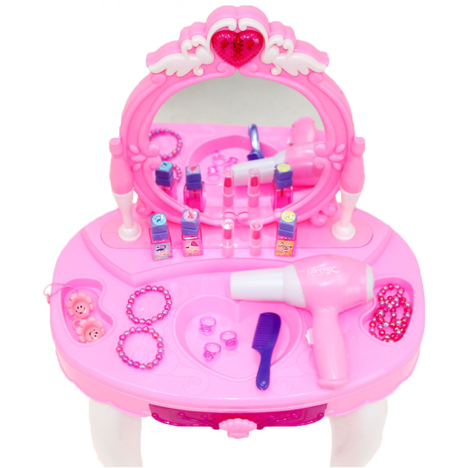 Toys For Kids Girls : Childrens kids girls play toy dressing table glamour