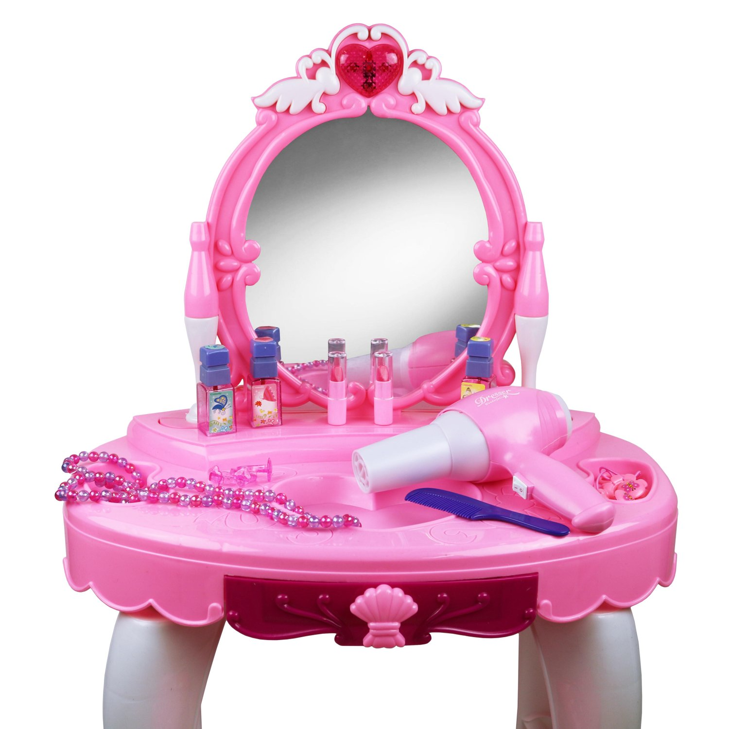 Childrens Kids Girls Play Toy Dressing Table Glamour