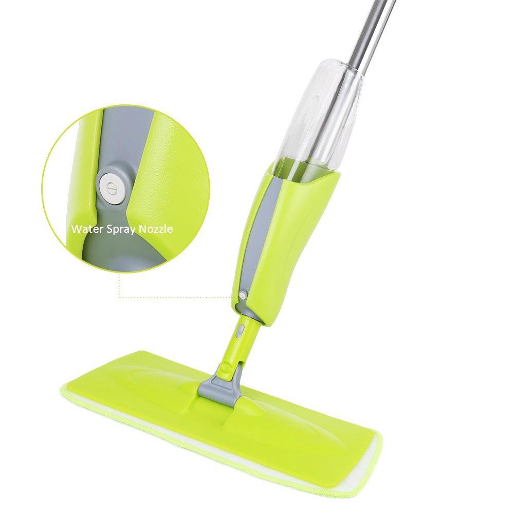 Spray Mop Water Spraying Microfibre Floor Cleaner Sweeper Wiper