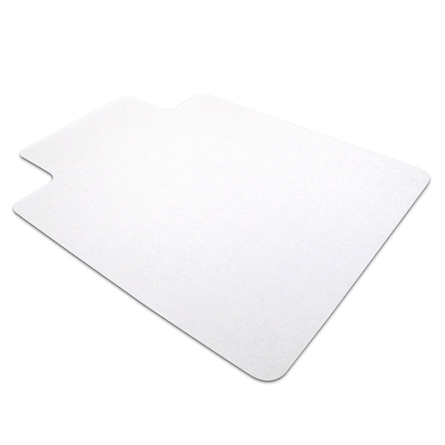 Home fice Non Slip PVC Desk Chair Mat Carpet Floor Protector