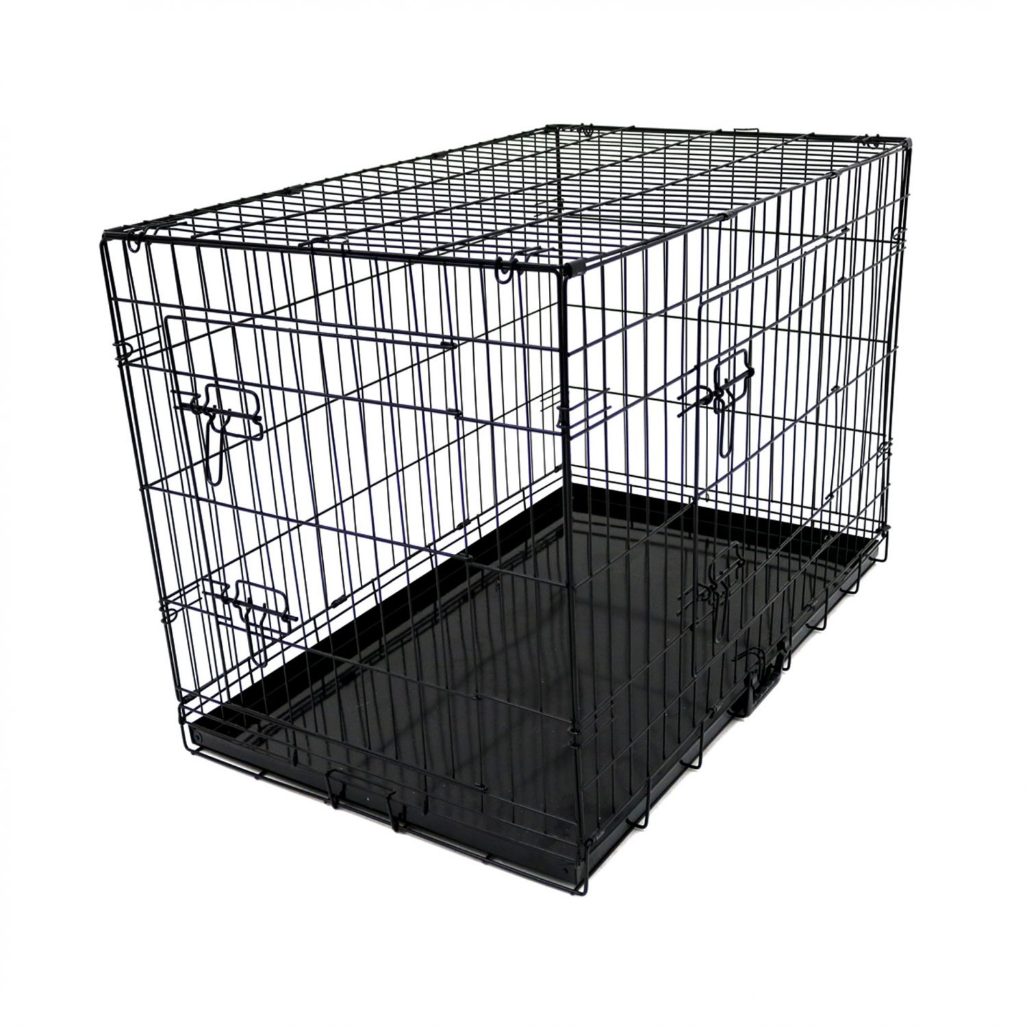 36 Quot Folding Metal Dog Cage Puppy Transport Crate Pet
