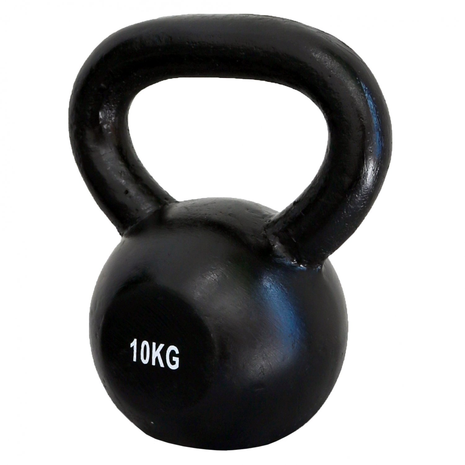 10kg Cast Iron Kettlebell Weight Training Fitness Workout