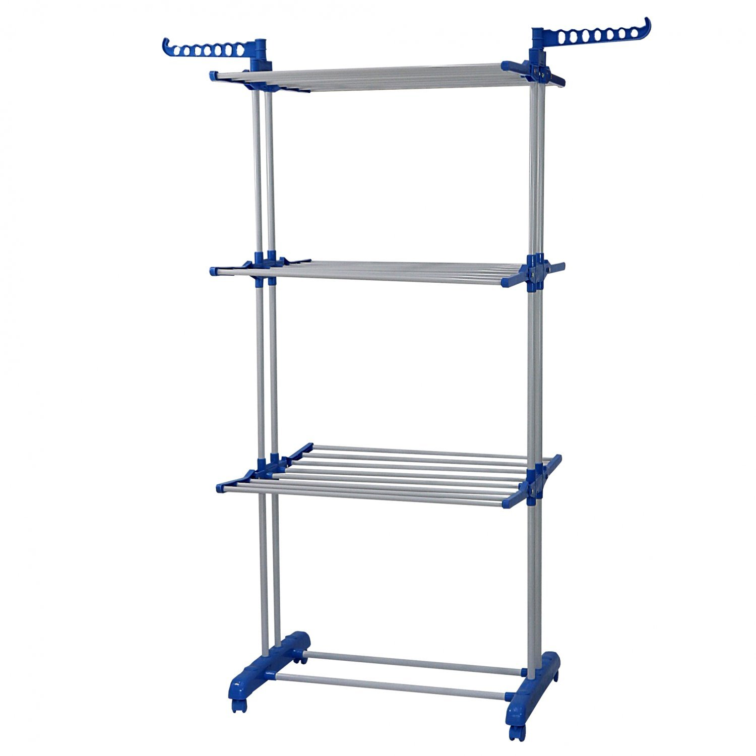 3 Tier Indoor Folding Clothes Airer Laundry Hanger Dryer Rack 24 99 Oypla Stocking The Very Best In Toys Electrical Furniture Homeware Garden Gifts And Much More