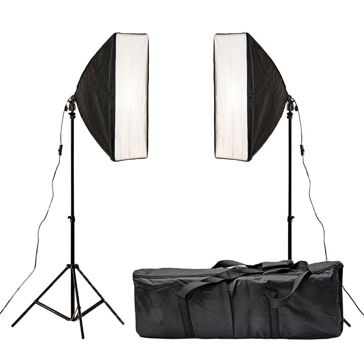 150W Studio Continuous Softbox Lighting Kit w/ Adjustable Stand  sc 1 st  Oypla & 150W Studio Continuous Softbox Lighting Kit w/ Adjustable Stand ... azcodes.com