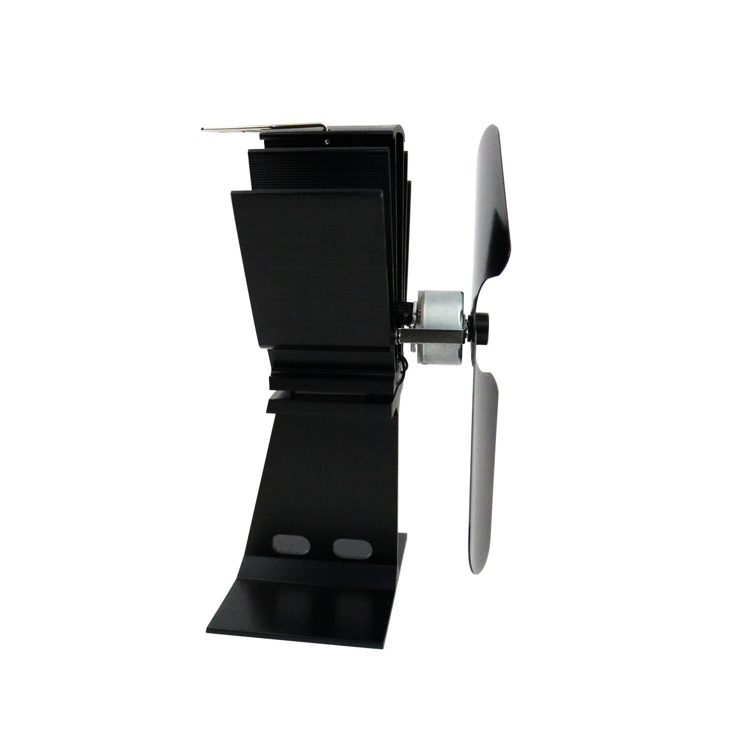 eco friendly heat powered log burner fireplace stove top fan
