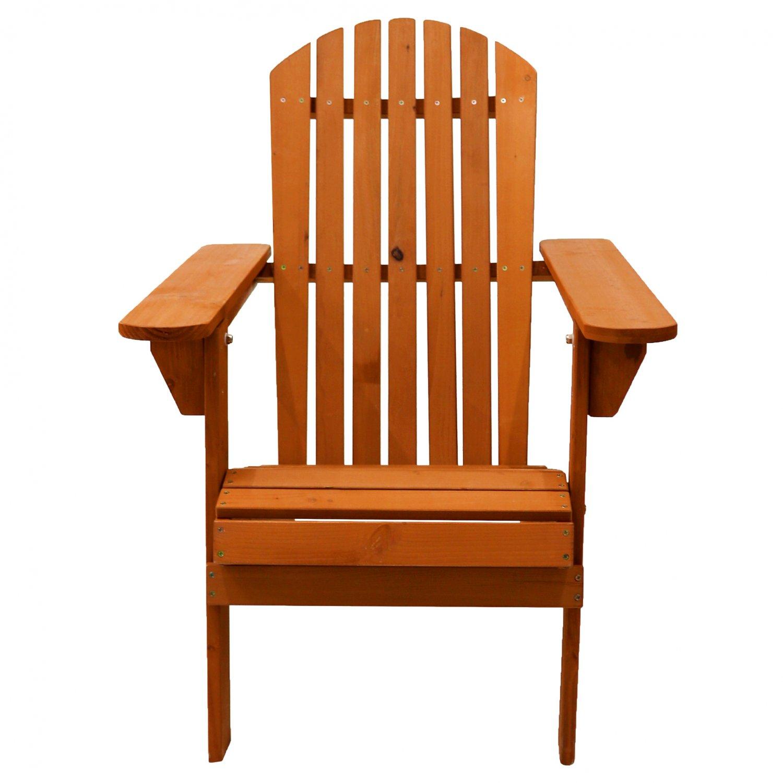 Wooden Outdoor Garden Adirondack Chair Patio Furniture - £ ...