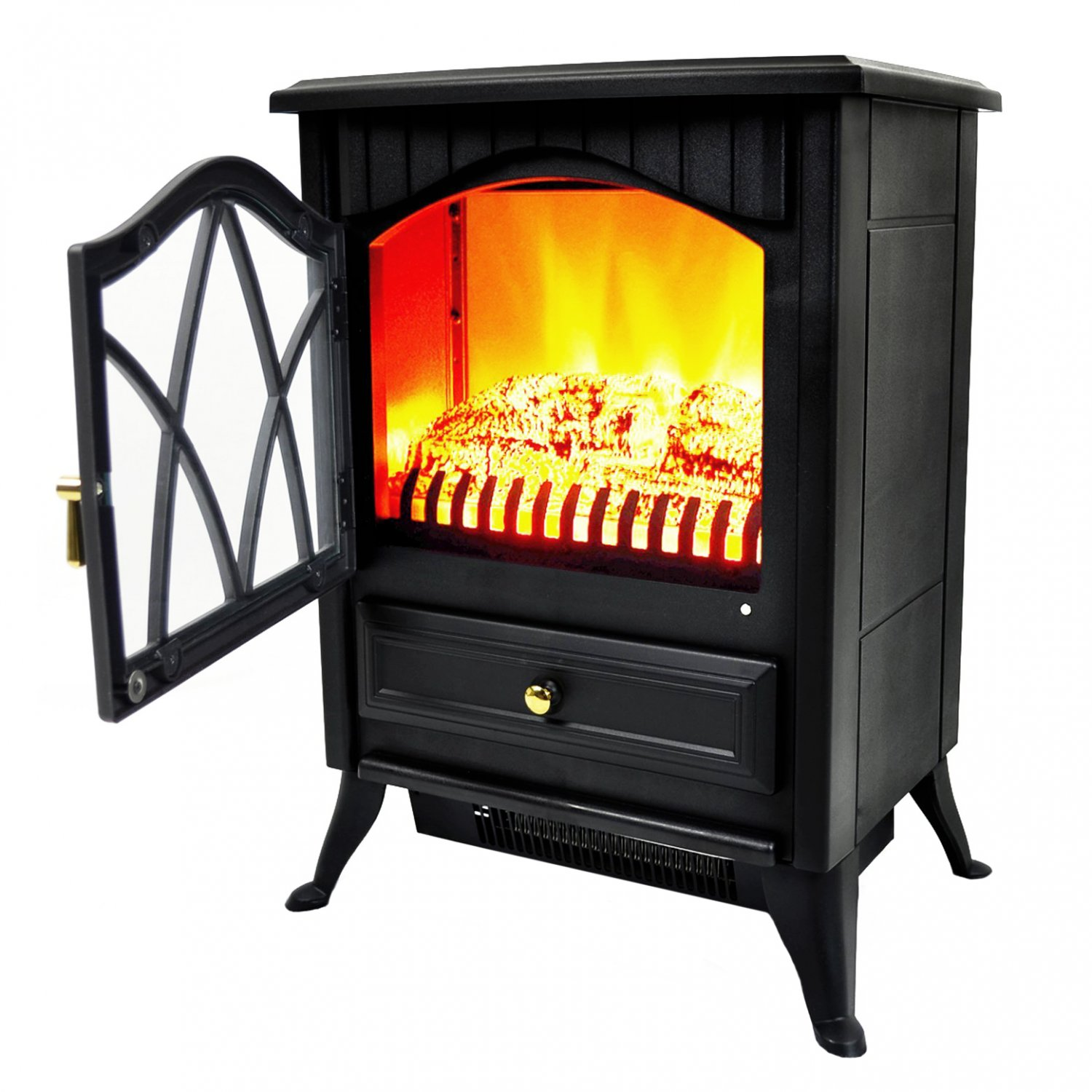 1850W Log Burner Flame Effect Electric Fireplace Stove Heater - £51.99 : Oypla - Stocking the ...