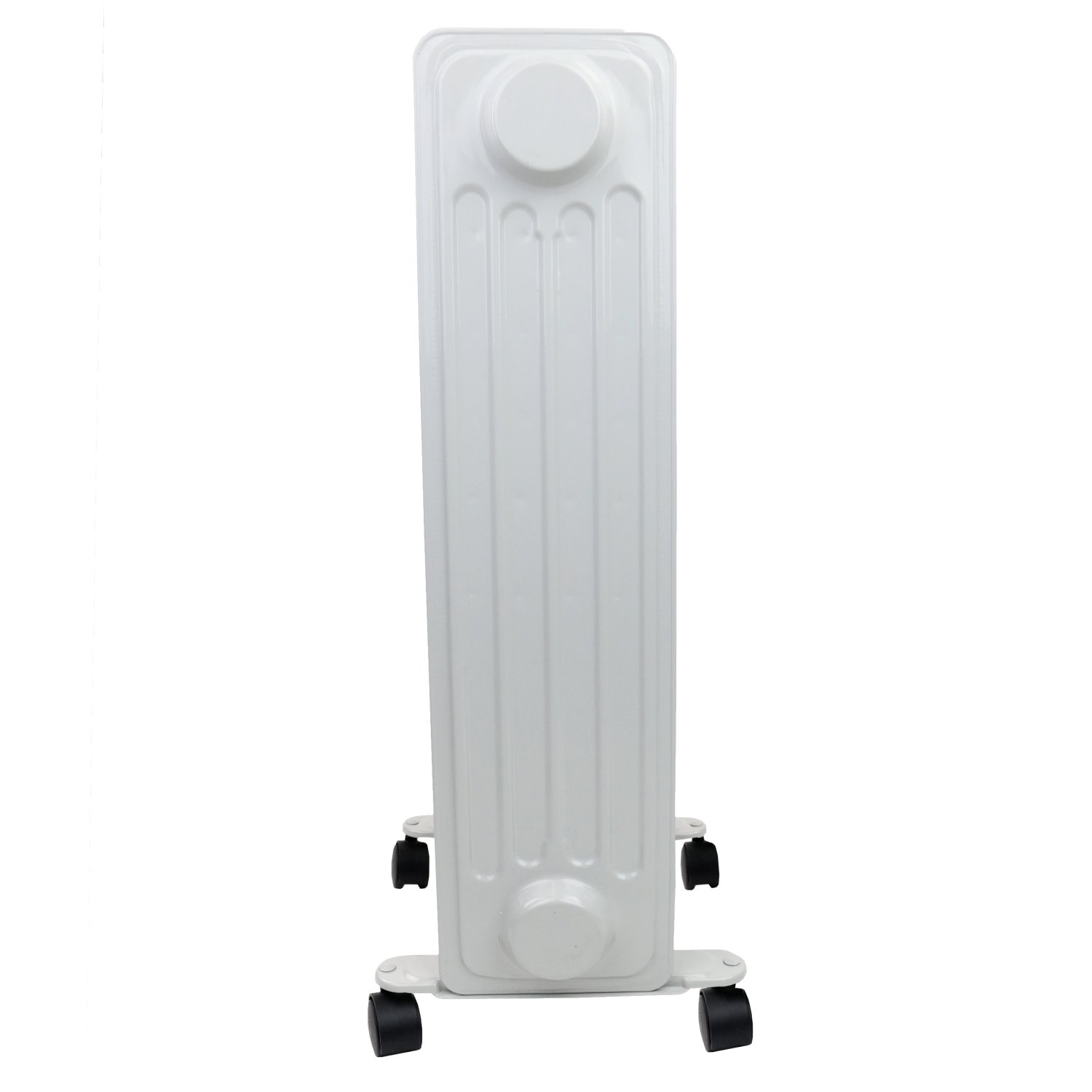 1000W 5 Fin Portable Oil Filled Radiator Electric Heater ...