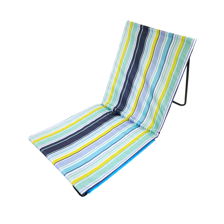 Portable Beach Mat Folding Chair Sun Lounger Outdoor