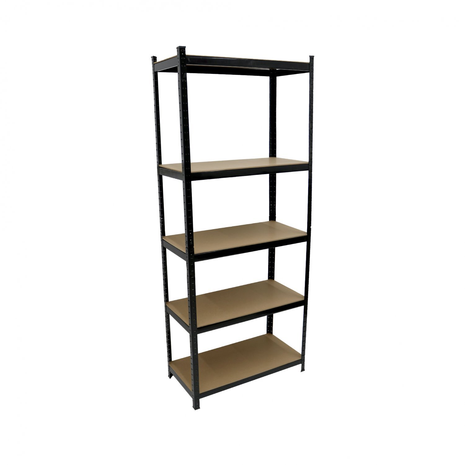 1325kg heavy duty 5 tier metal storage garage shelving. Black Bedroom Furniture Sets. Home Design Ideas