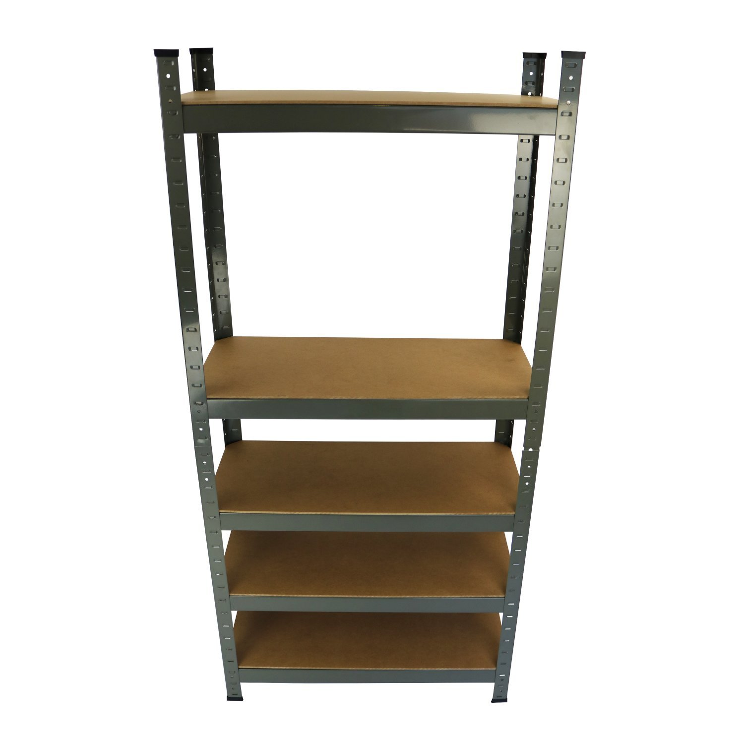 new 4 tier black plastic heavy duty shelving racking file. Black Bedroom Furniture Sets. Home Design Ideas