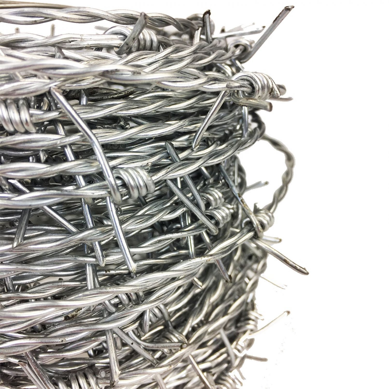 30m x 1.7mm Galvanised Steel Barbed Wire Livestock Security - £10.99 ...