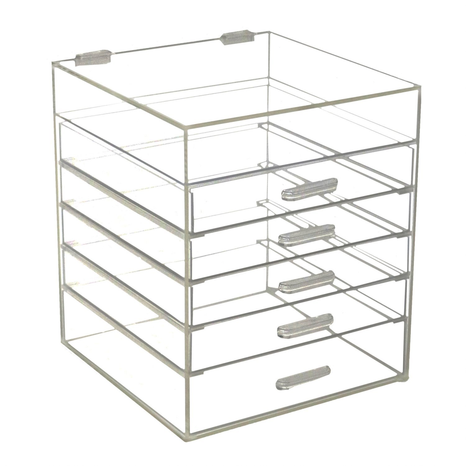 """3"""" by 3"""" by 6"""" Hard Plastic Display Case"""
