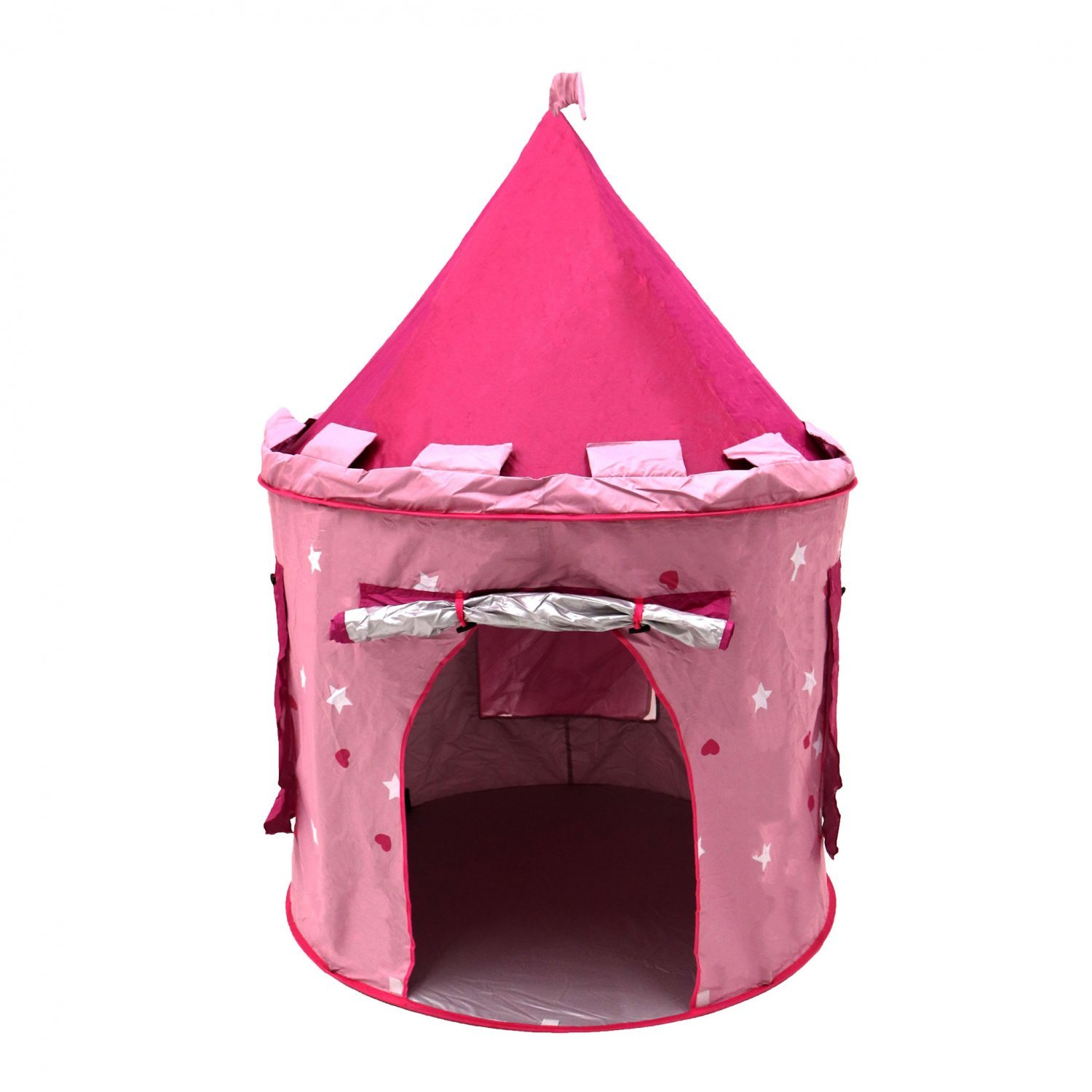 Shopping with Oypla  sc 1 st  Oypla & Childrens Kids Pink Castle Pop Up Play Tent Fairy Princess - £18.99 ...
