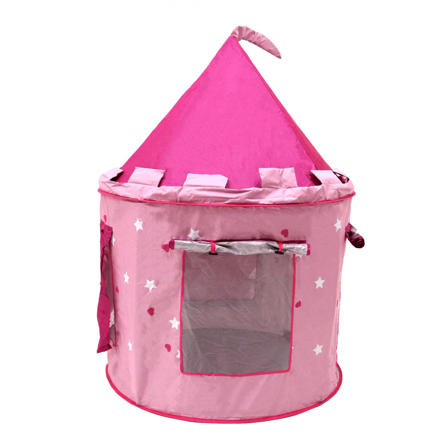 ... Childrens Kids Pink Castle Pop Up Play Tent Fairy Princess ...  sc 1 st  Oypla & Childrens Kids Pink Castle Pop Up Play Tent Fairy Princess ...