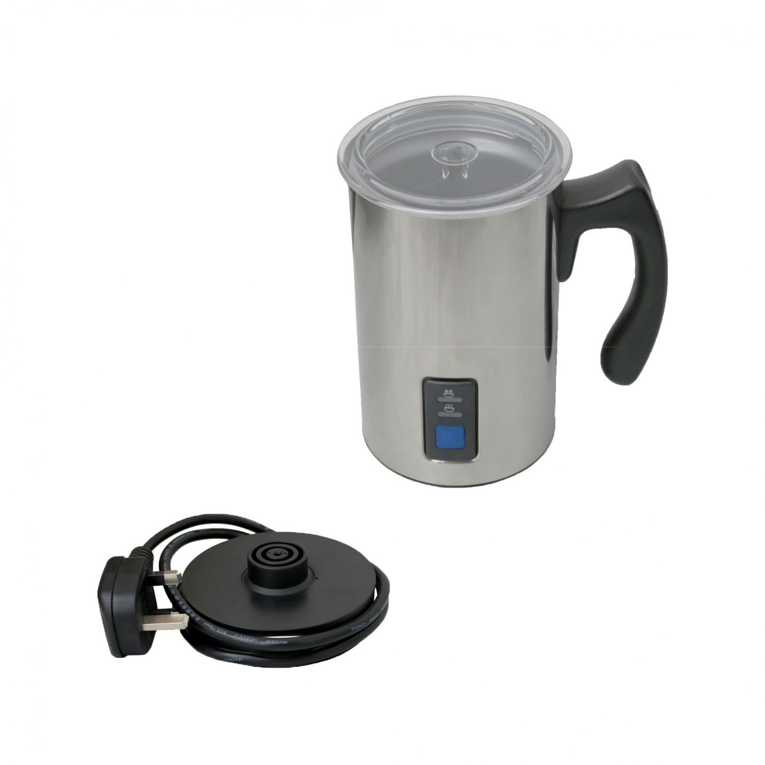 Stainless Steel Electric Milk Frother And Warmer Coffee