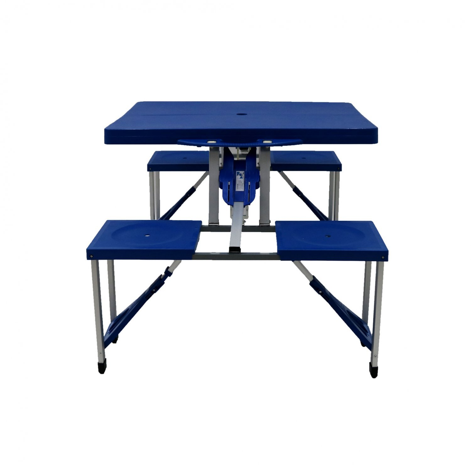 Portable folding outdoor picnic table and bench set 4 for Table retractable