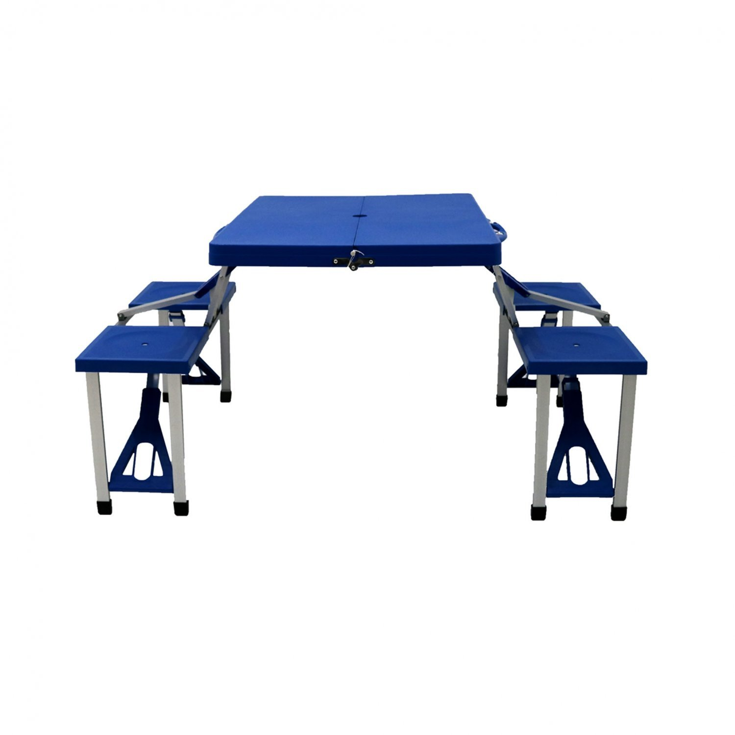 Portable Folding Outdoor Picnic Table And Bench Set 4