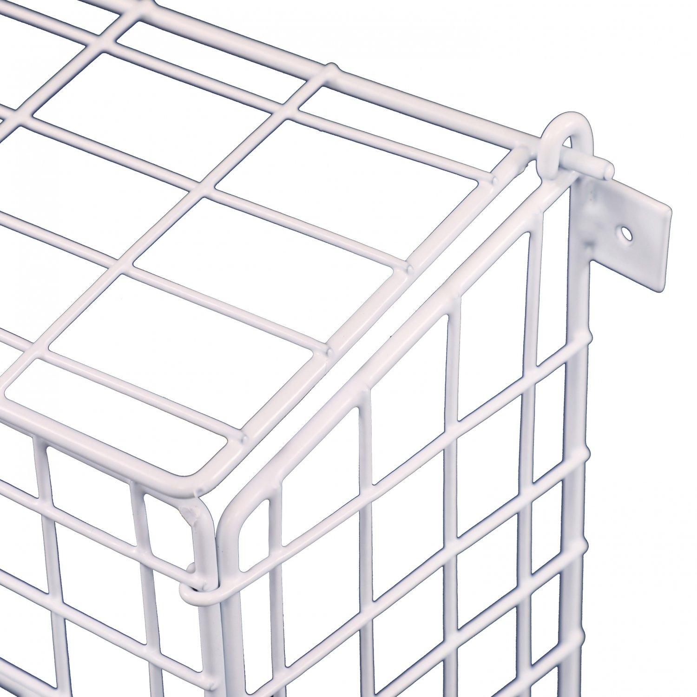 Medium Letterbox Door Post Mail Catcher Basket Cage Holder Guard