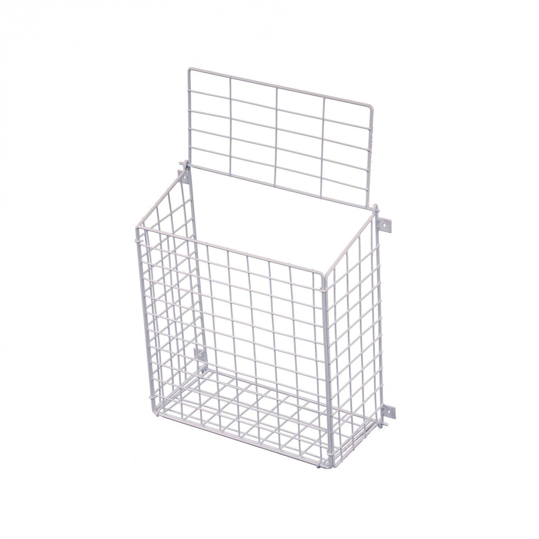 ... Large Letterbox Door Post Mail Catcher Basket Cage Holder Guard ...