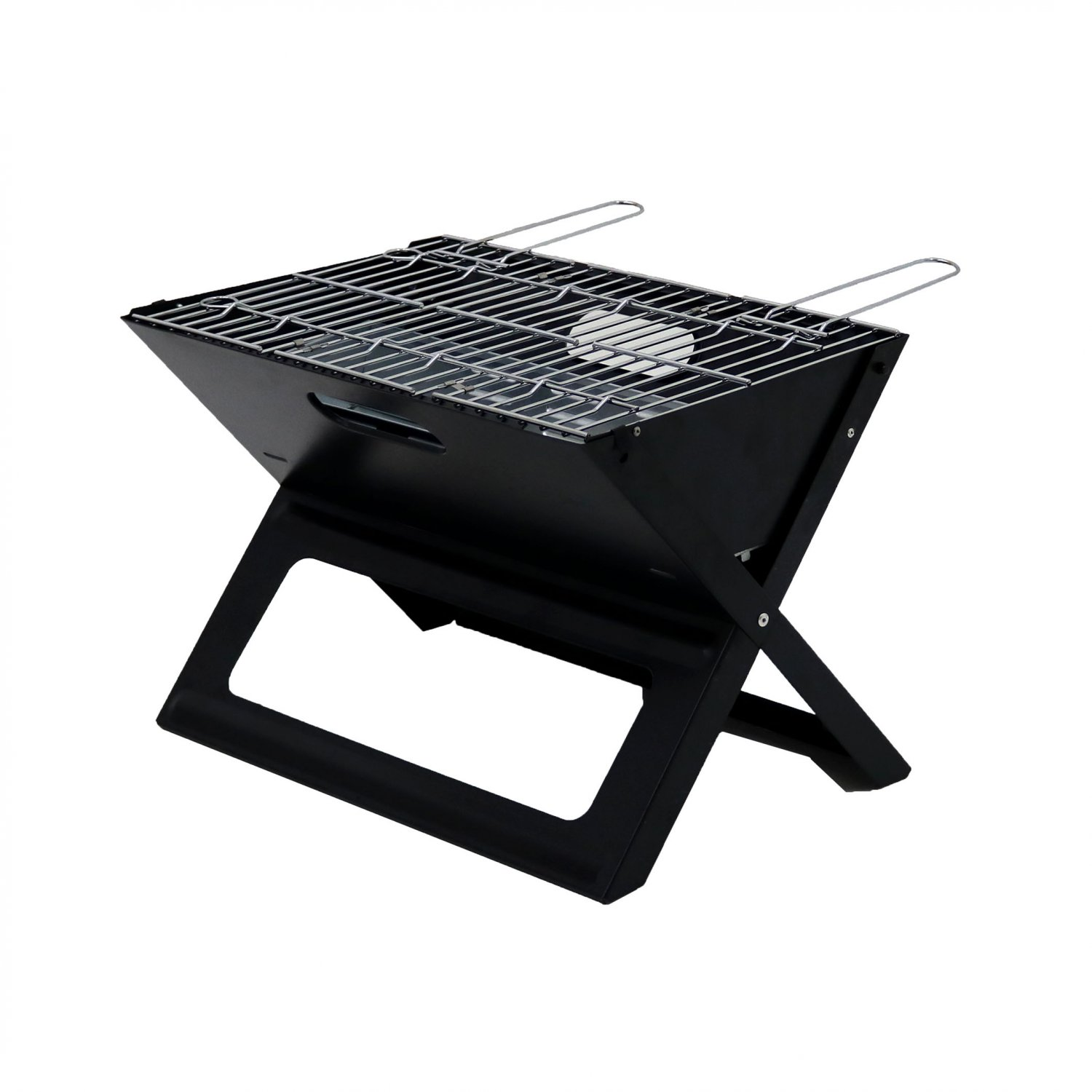 BBQ Barbecue Grill Folding Light Portable Stainless Steel Picnic Camping Outdoor