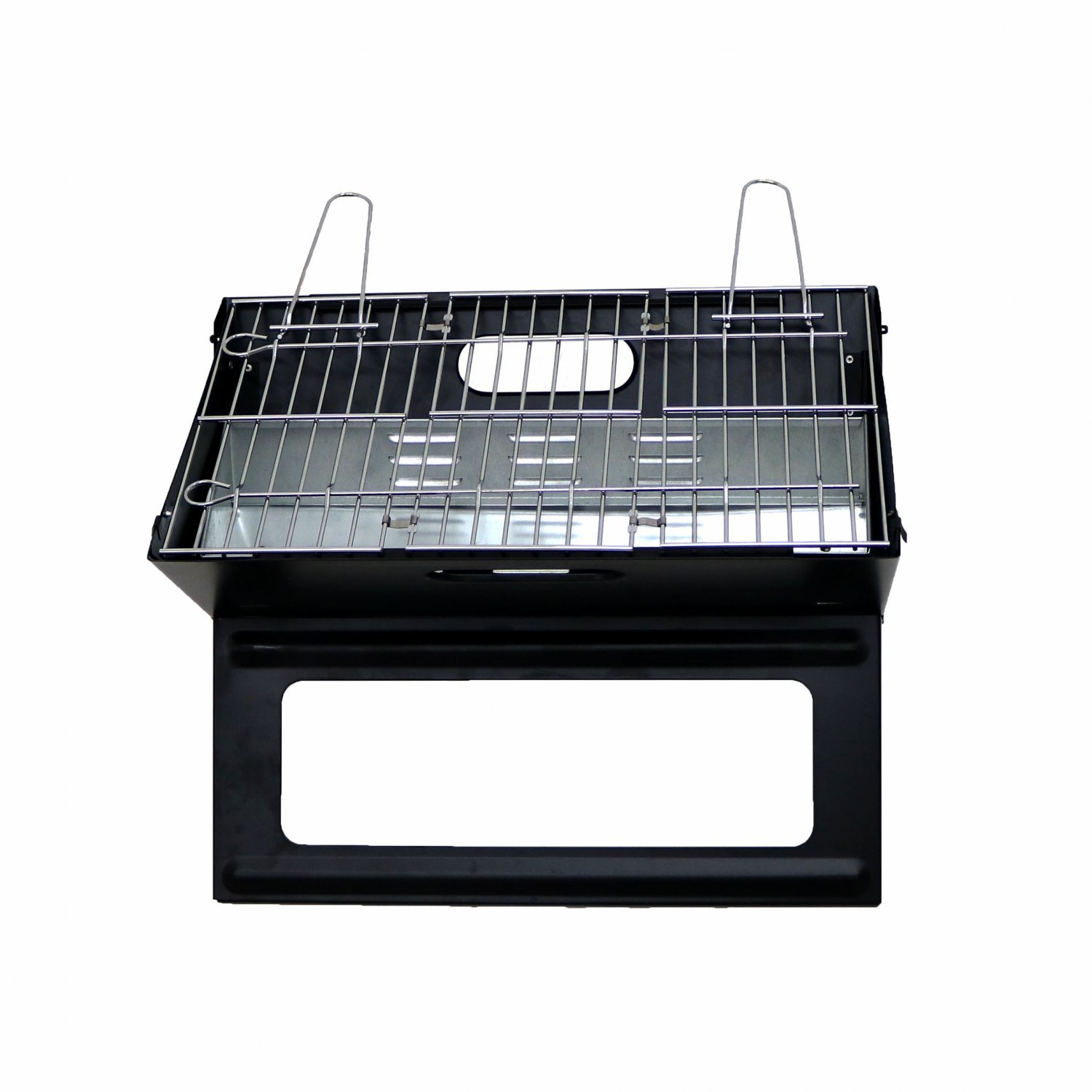 folding portable picnic camping bbq barbecue grill oypla stocking the very best in. Black Bedroom Furniture Sets. Home Design Ideas