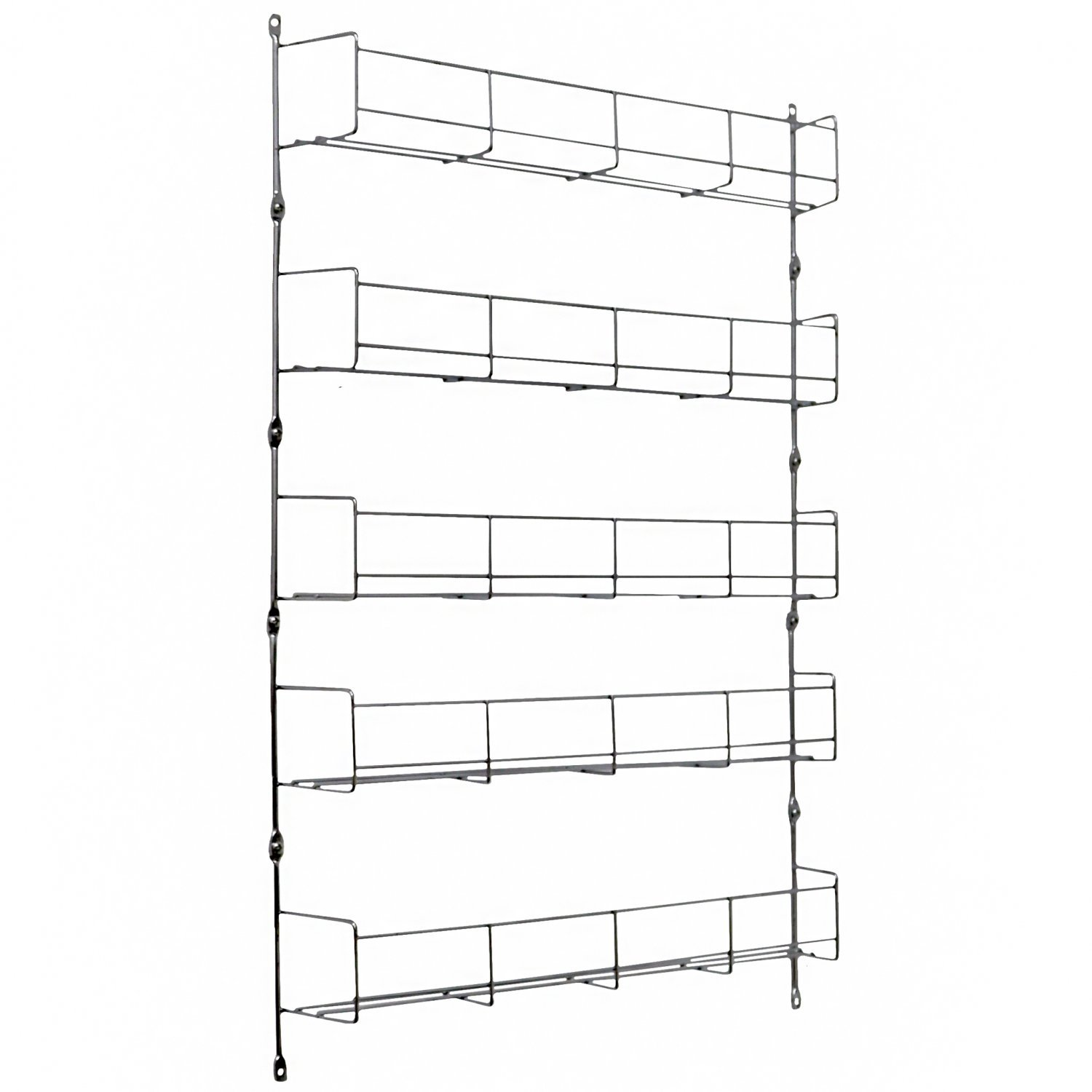 5 Tier 40 Jar Spice Herb Rack Kitchen Storage Wall Mountable 13 99 Oypla Stocking The Very Best In Toys Electrical Furniture Homeware Garden Gifts And Much More