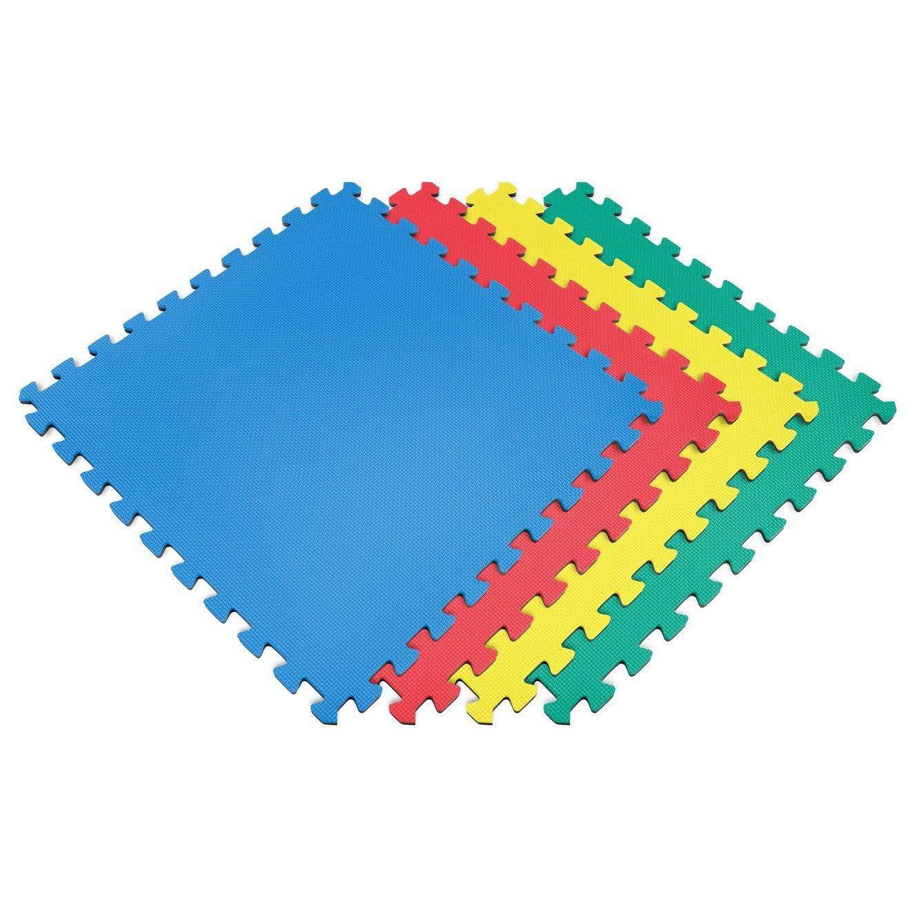 sq ft interlocking eva soft foam exercise floor play mats  -  sq ft interlocking eva soft foam exercise floor play mats