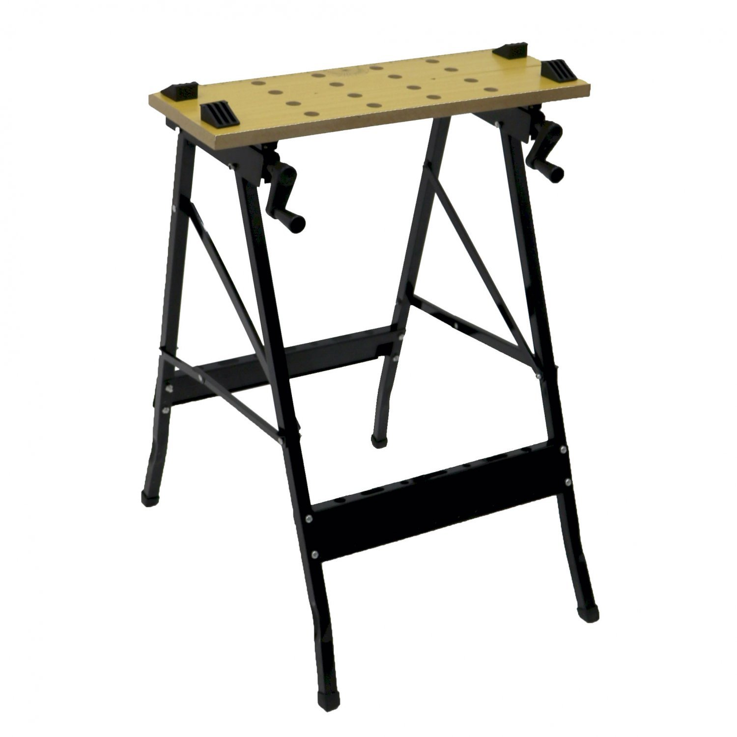 Folding Foldable Trestle Work Bench Workbench Portable 100kg Oypla Stocking The