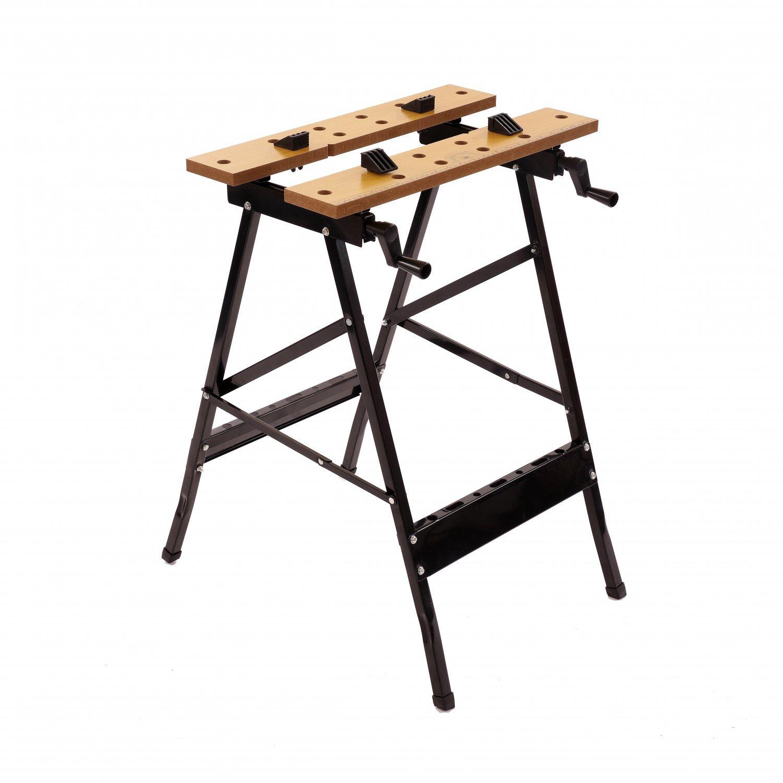 Awe Inspiring Folding Foldable Trestle Work Bench Workbench Portable 100Kg Evergreenethics Interior Chair Design Evergreenethicsorg