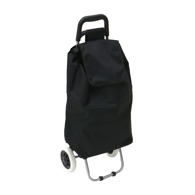4373bb3538 NEW! 2 Wheel Folding Shopping Trolley Bag Cart Market Laundry ...