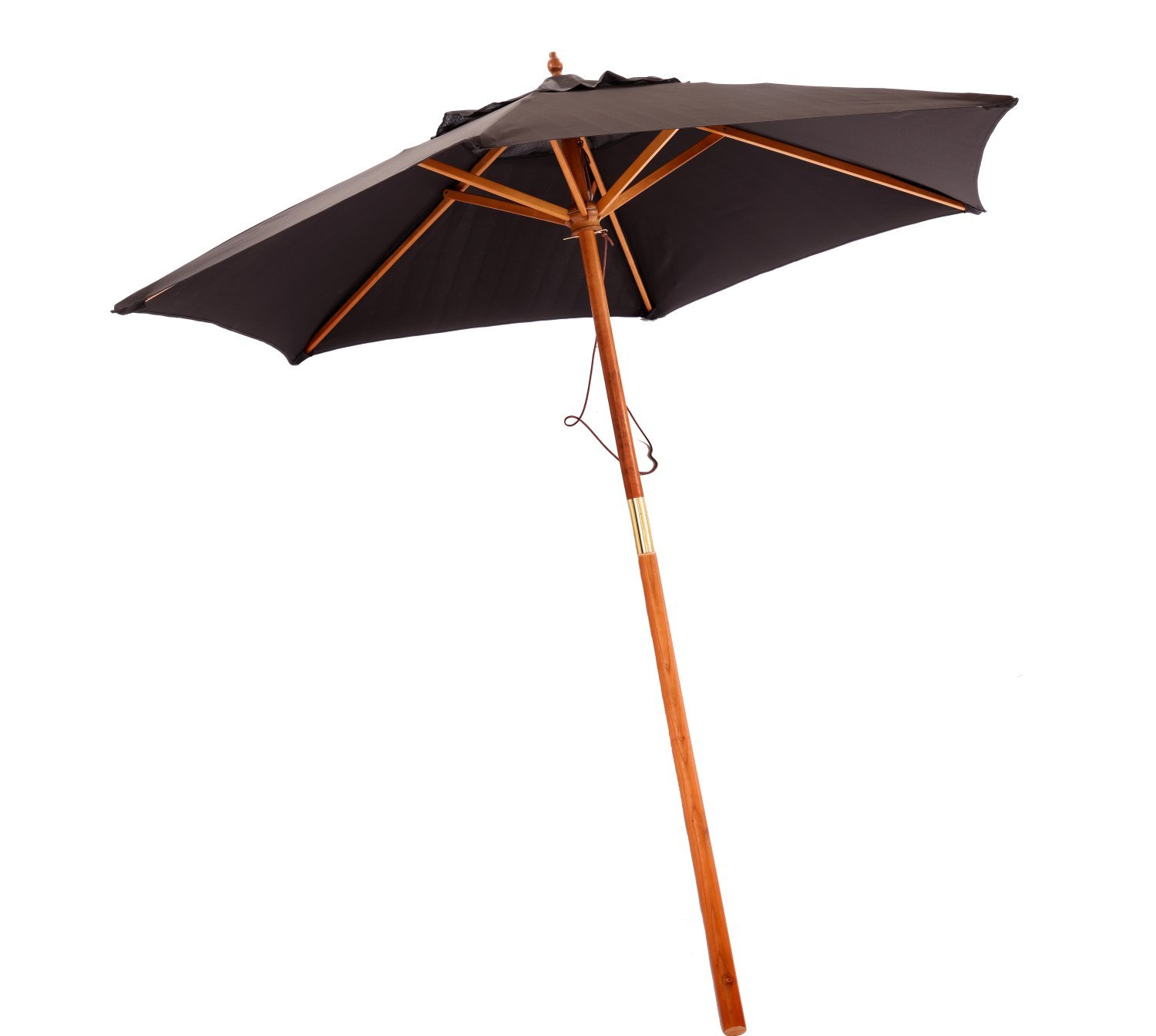 2 1m Wooden Black Garden Parasol Outdoor Patio Umbrella Canopy 29 99 Oypla Stocking The Very Best In Toys Electrical Furniture Homeware Garden Gifts And Much More