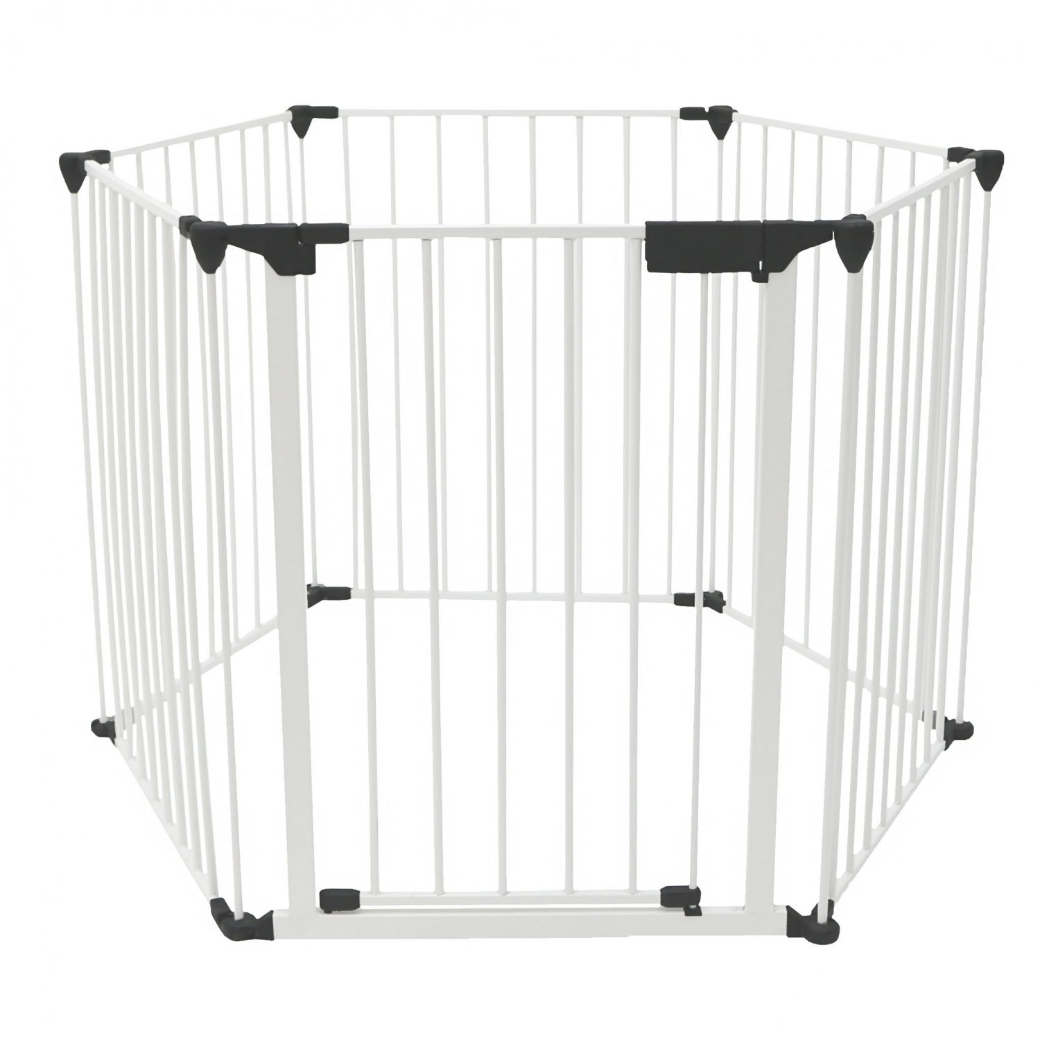 3 In 1 Folding Baby Playpen Safety Gate Fire Guard Wall