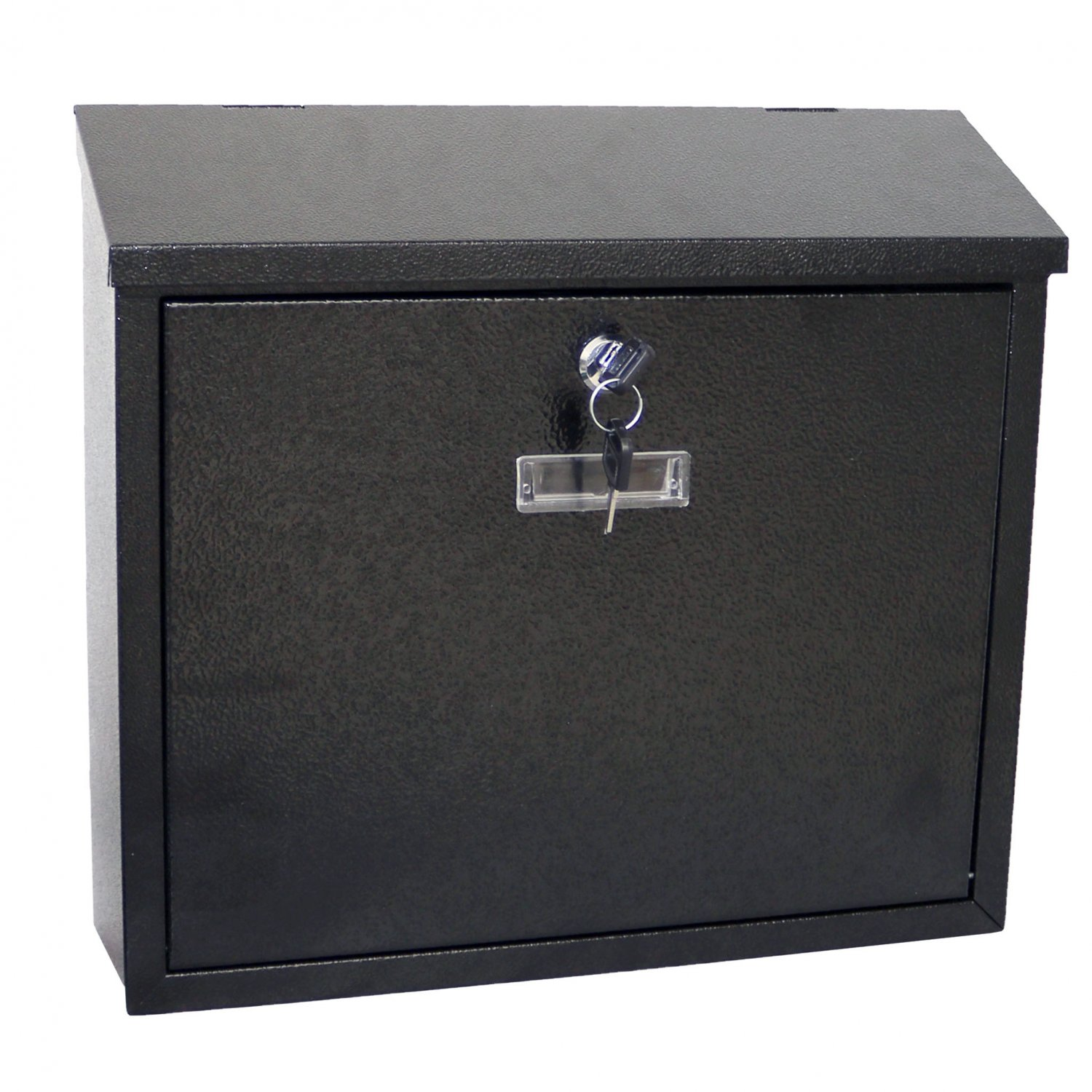 Black Wall Mounted Lockable Waterproof House Mailbox Postbox 18 99 Oypla Stocking The Very Best In Toys Electrical Furniture Homeware Garden Gifts And Much More
