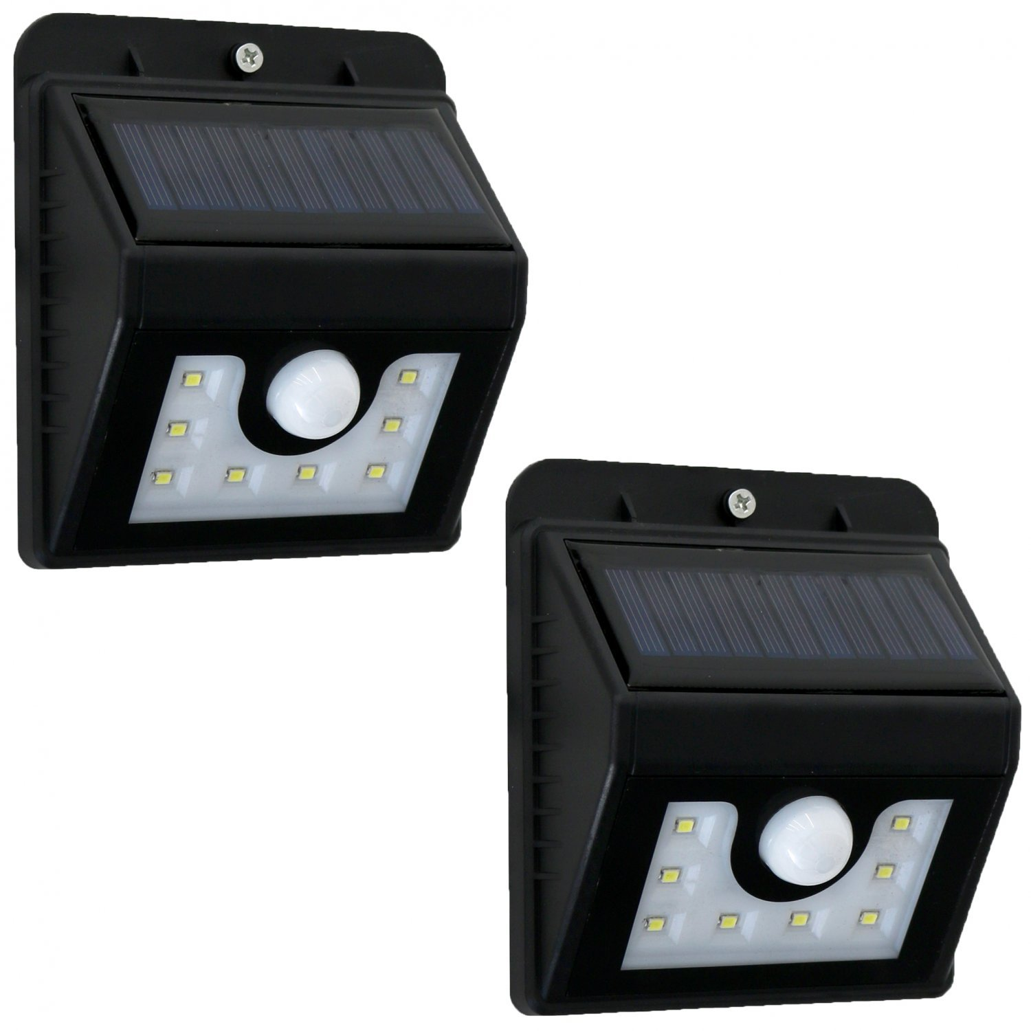 2x Waterproof Wall Mounted Outdoor Solar Motion Sensor Led Light 19 99 Oypla Stocking The Very Best In Toys Electrical Furniture Homeware Garden Gifts And Much More