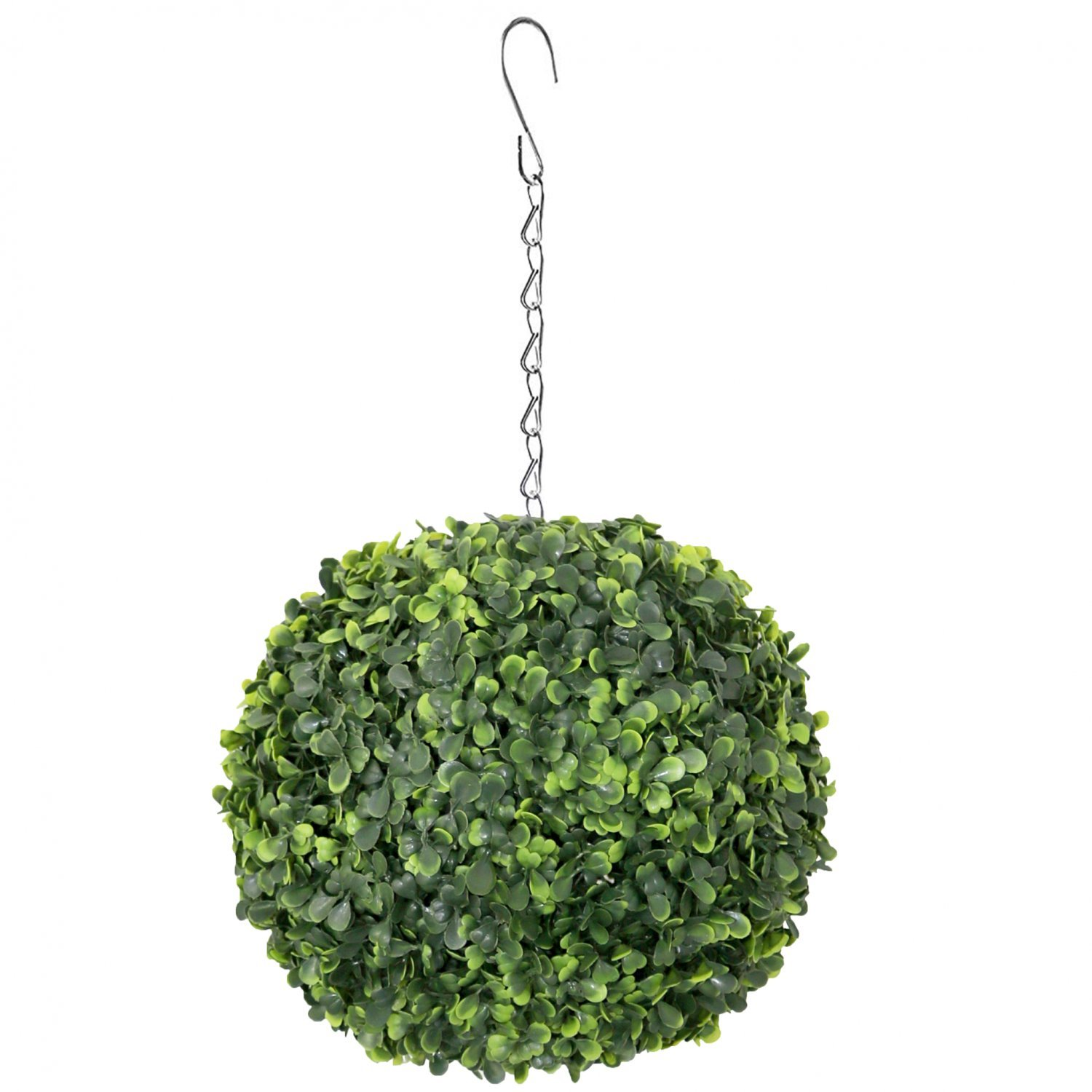 Artificial 28cm Hanging Topiary Tree Boxwood Buxus Ball 12 99 Oypla Stocking The Very Best In Toys Electrical Furniture Homeware Garden Gifts And Much More