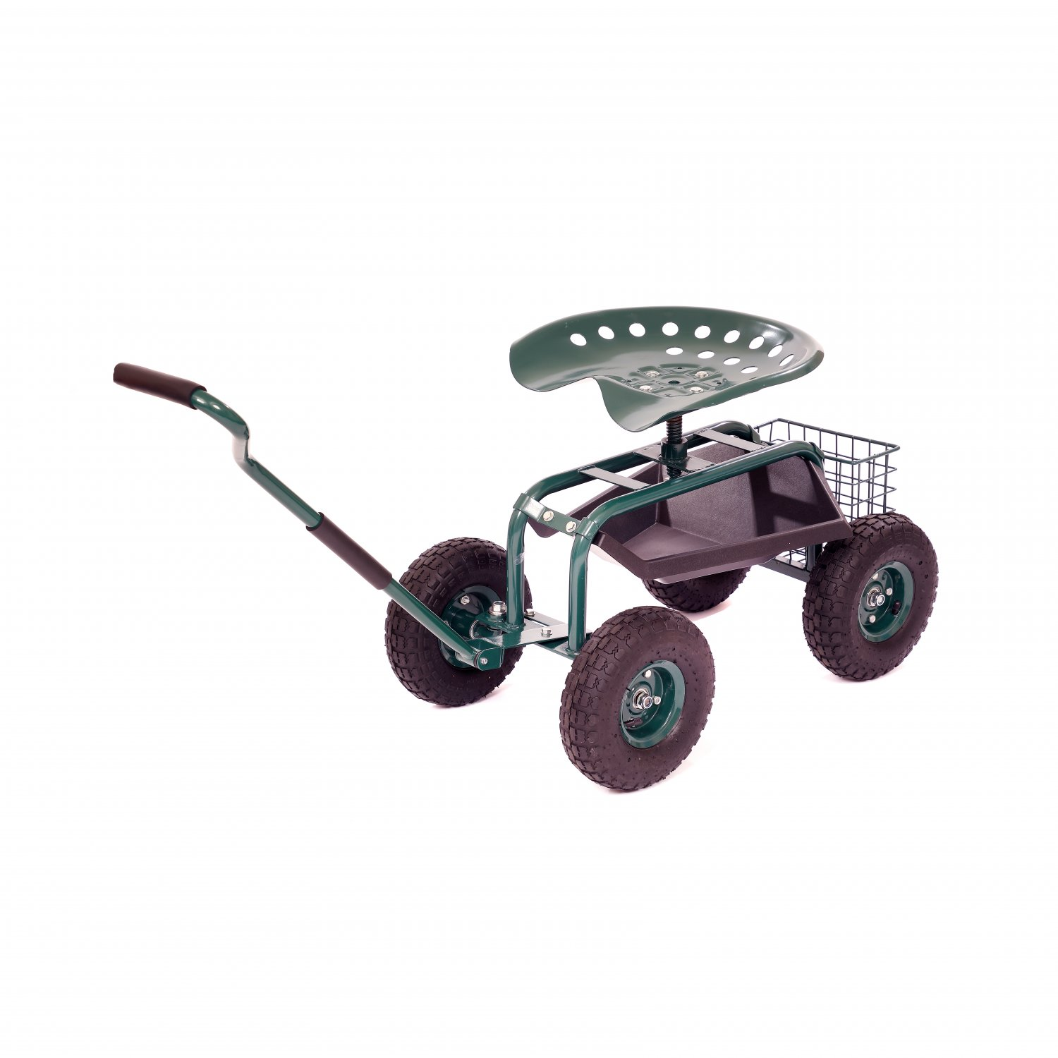 Outdoor Rolling Garden Seat Wheeled Stool W Tool Tray Basket 46 99 Oypla Stocking The Very Best In Toys Electrical Furniture Homeware Garden Gifts And Much More