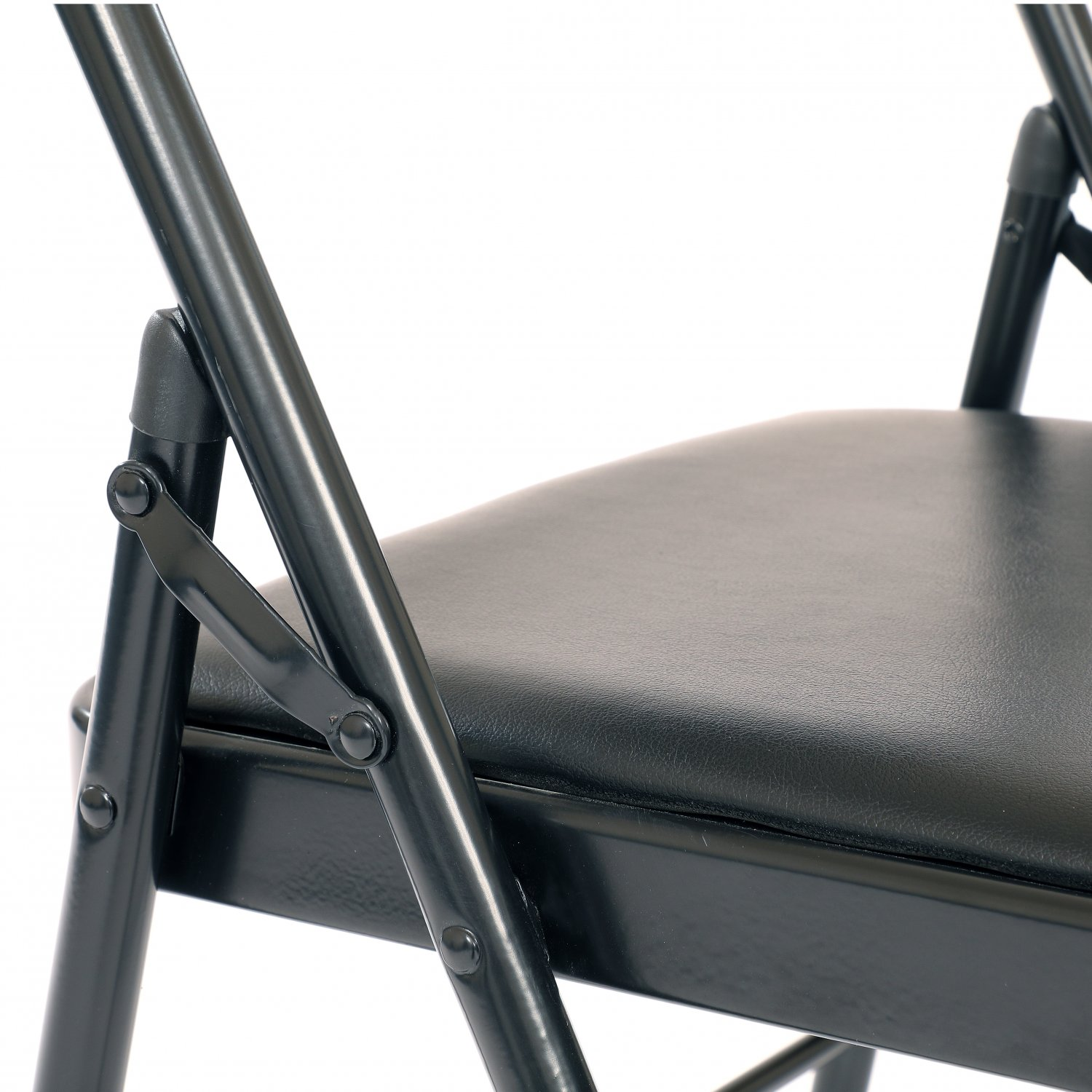 Image of: Heavy Duty Padded Folding Metal Desk Office Chair Seat 19 99 Oypla Stocking The Very Best In Toys Electrical Furniture Homeware Garden Gifts And Much More