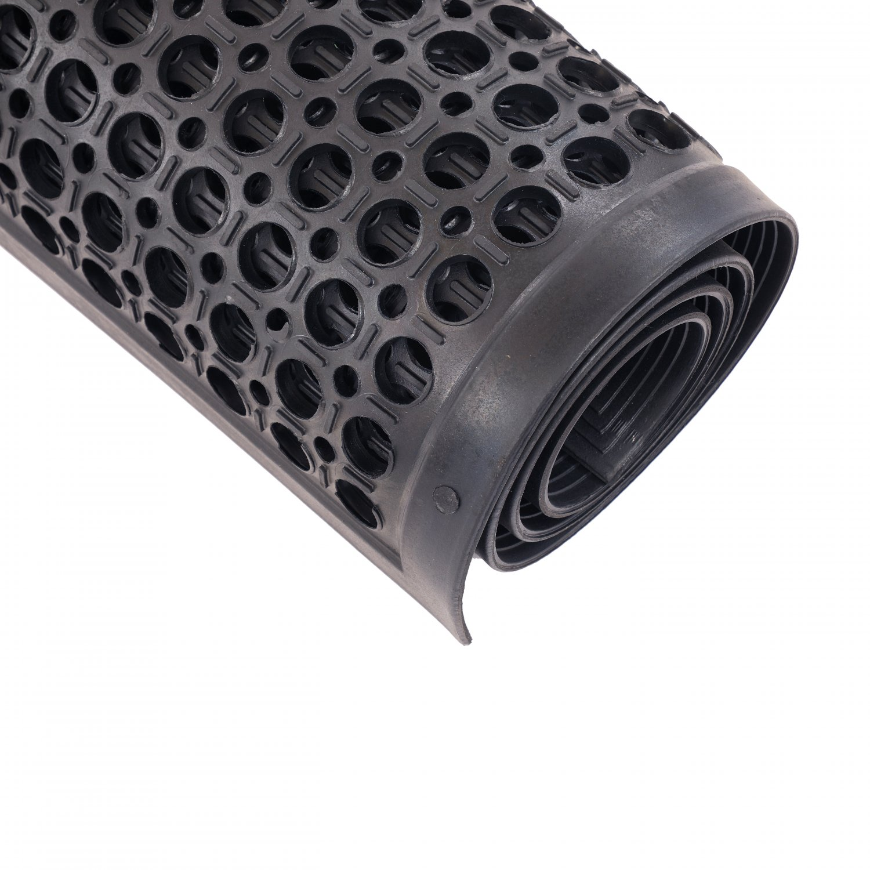Large Durable Drainage Black Outdoor Door Anti-Slip Rubber ...