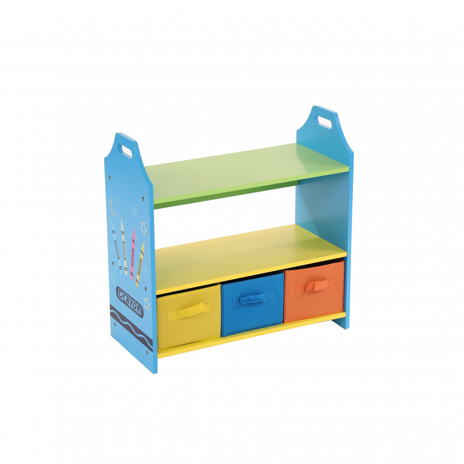 Colourful Childrens Toy Storage Crayon Unit Shelves With 3 Drawers 27 99 Oypla Stocking The Very Best In Toys Electrical Furniture Homeware Garden Gifts And Much More