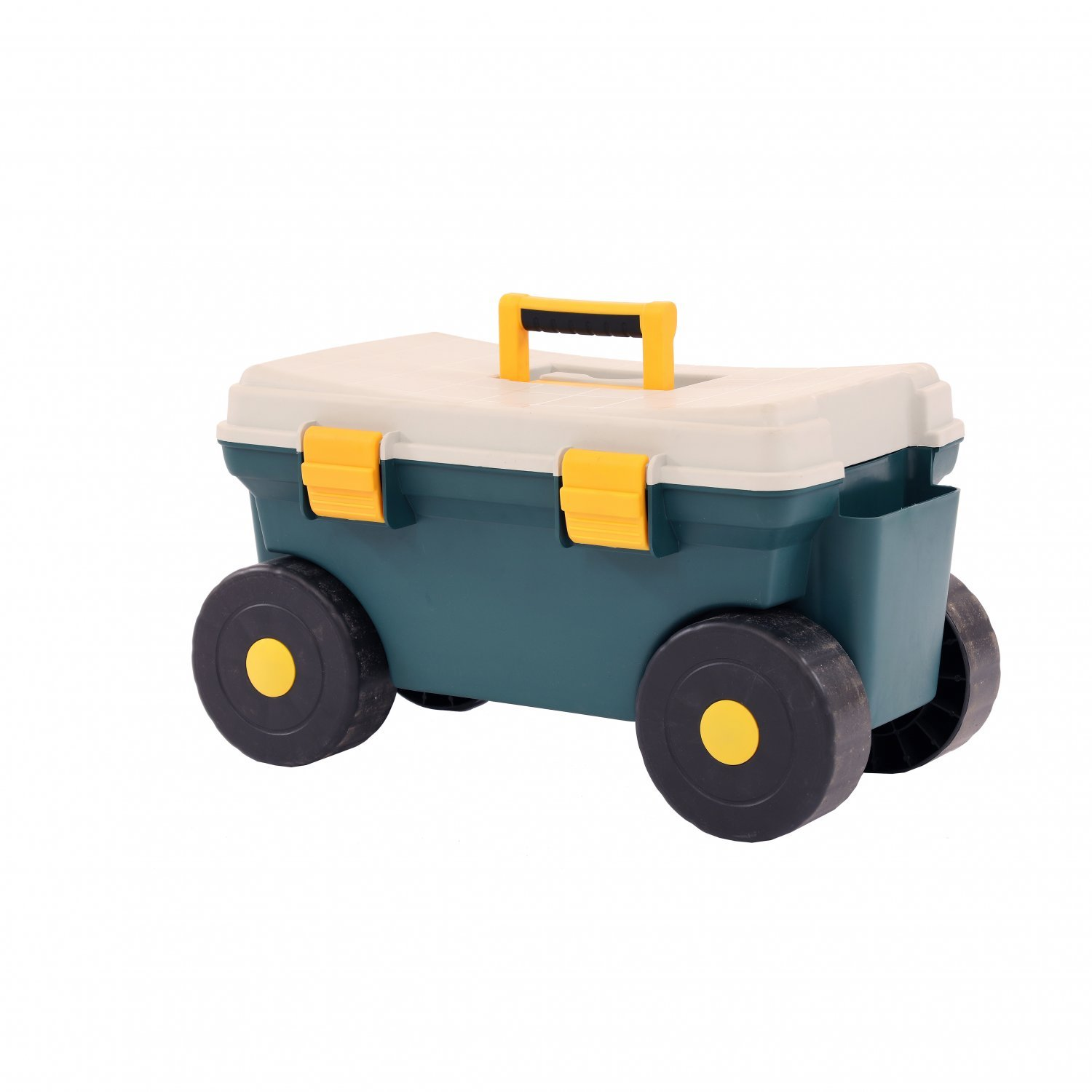 Outdoor Garden Rolling Tool Cart Storage Trolley Seat Box 17 99 Oypla Stocking The Very Best In Toys Electrical Furniture Homeware Garden Gifts And Much More