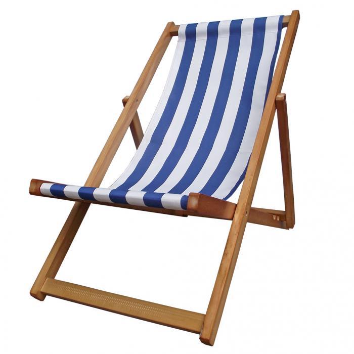 Traditional Folding Hardwood Garden Beach Deck Chairs Deckchairs ...